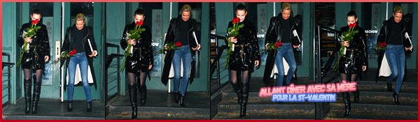 -14/02/2018- ─ Bella Hadid a défilée pour le styliste « Michael Kors » lors de la Fashion Week, étant, dans New-York City.Un peu plus tard, la belle mannequin B. a été photographiée quittant le défilée. Concernant sa tenue, c'est un jolie petit top de ma part personnellement.