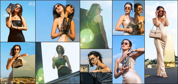 Bella H. prend la pose pour la marque « Serpenteyes Eyewear » de Bulgari !