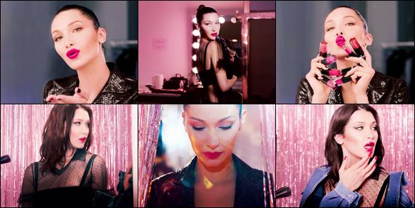 Bella prend la pose pour « Dior Addict Lip Lacquer Plump » campagne 2018 !