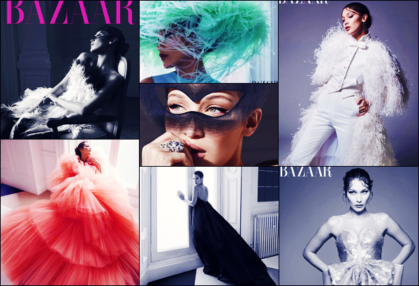 Bella Hadid fera la couverture de « US Harper's Bazaar » du mois de Juin !