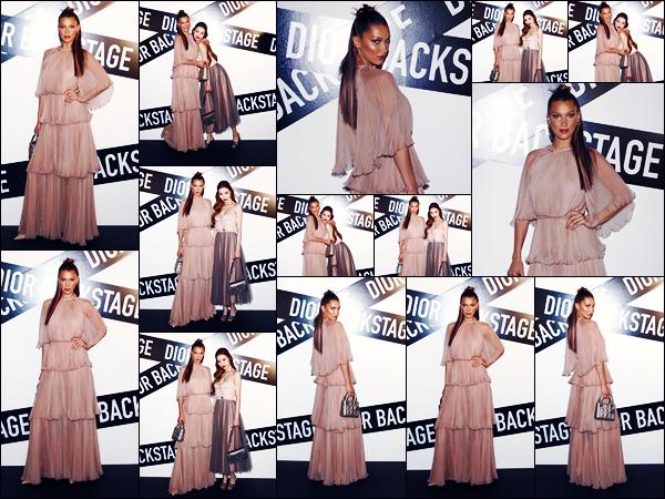 -11/06/2018- ─ Bella Hadid était présente lors de l'événement « Dior Backstage launch party », se déroulant dans Séoul !La belle mannequin est donc actuellement en Corée du Sud, et c'est encore une fois pour la promotion de DIOR. Concernant la tenue, c'est un beau top.