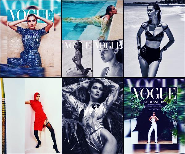 Bella Hadid fera la couverture de « Vogue Mexico » pour le mois de Juillet !