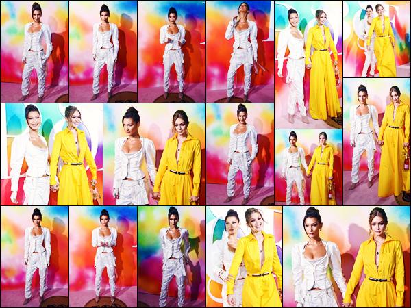 -09/09/2018- ─ Bella Hadid était présente lors de la soirée pour « BOF 500 Gala & Party » étant à Brooklyn, à New-York !La belle mannequin était en compagnie de sa grande s½ur, Gigi Hadid, pour poser sur le tapis rouge ! Concernant sa tenue, c'est un jolie top de ma part.