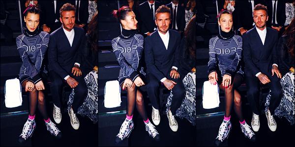 -30/11/2018- ─ Bella Hadid était présente lors du défilé de la marque « Dior » pour la collection Homme, étant, à - Tokyo !C'est donc au Japon que nous retrouvons notre sublime mannequin B. qui se fait assez discrète en ce moment... Concernant sa tenue, c'est un jolie top !