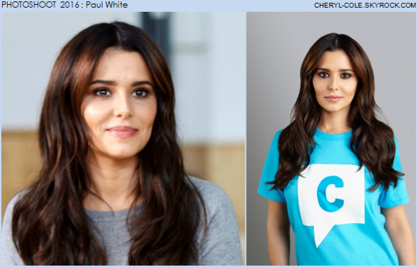 PHOTOSHOOT : Cheryl pose pour Paul White en 2016