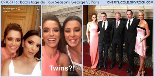 09/05/16 : Four Seasons George V, Paris