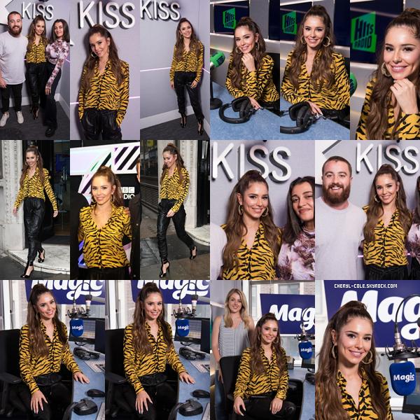 - 04/06/2019 : Cheryl lors d'une journée promotion radio à Londres, UK ! Elle était présente à Magic Radio, Hits Radio et Kiss FM. Un très joli top pour la chanteuse ! -