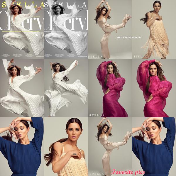 - • COVER & SHOOT • Découvrez des clichés de notre Cheryl Cole qui pose pour « Stella » de Dima Hohlov ! -