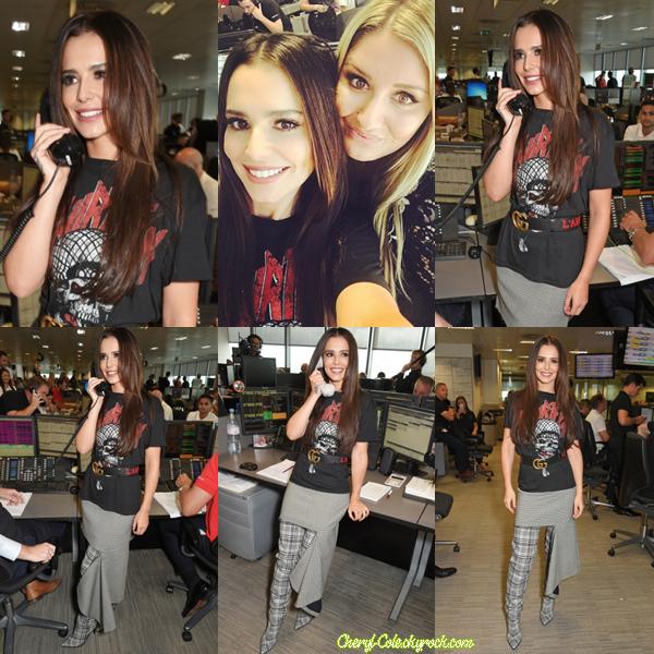 """11/09/2017 : Cheryl à été photographiée lors de l'événement BGC Charity Day afin de représenter son association Cheryl's Trust à Londres """" •Réseaux Sociaux Découvre deux images de Cheryl avec Nick Grimshaw, ex-juré de X Factor UK saison 12 datant du 11 septembre 2017 ! """""""