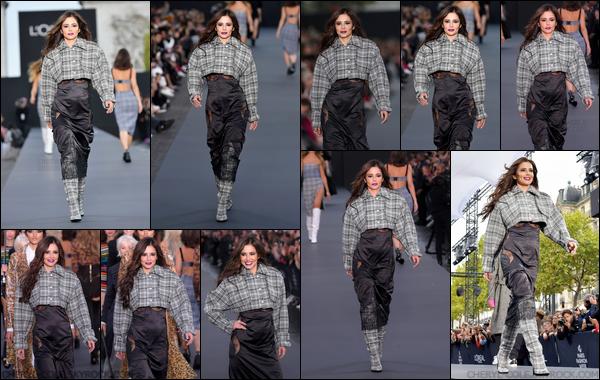 - 01/10/2017 : Cheryl défile pour L'Oréal Paris afin de promouvoir la nouvelle collection 2018 à la Fashion Week de Paris ! -