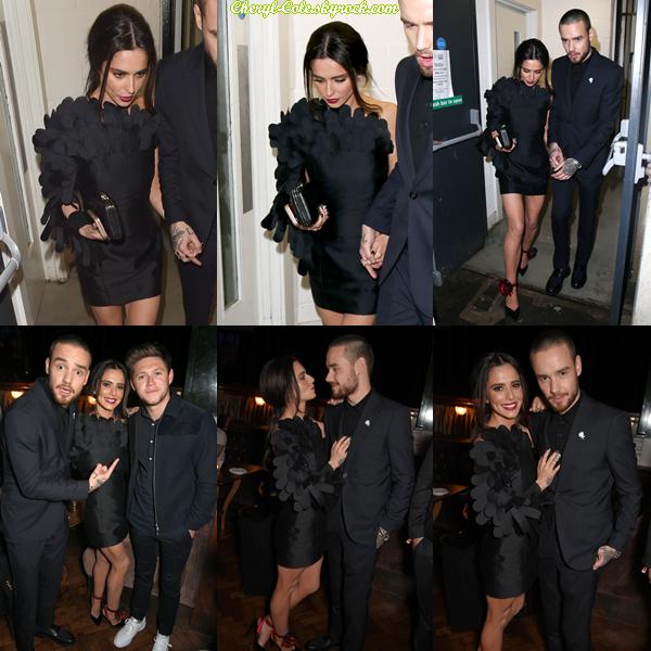 """- 21/02/2018 : Cheryl et Liam étaient présents aux """"BRIT Awards 2018"""" à l'O2 Arena à Londres puis à son afterparty en compagnie de Niall Horan ! Cheryl est juste canon j'adore sa tenue qui est irréprochable, elle est magnifique, TOP ! -"""