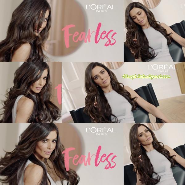 """"""" •PHOTOSHOOT Cheryl pose pour L'Oréal Paris : Crème de Coulée #3 2018 ! """""""