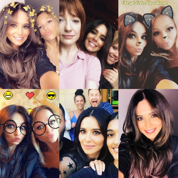 - 30/06/2018 : Cheryl fêtant son 35e anniversaire en compagnie de quelques amis (lieu inconnu). -