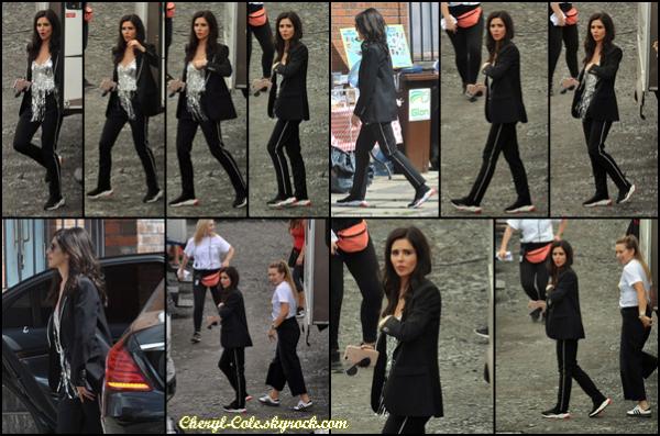 - 23/07/2018 : Cheryl sur le tournage du film « Quatre enfants et ça » à Dublin, en Irlande. Aucune information disponible pour le moment mais j'adore son haut. -