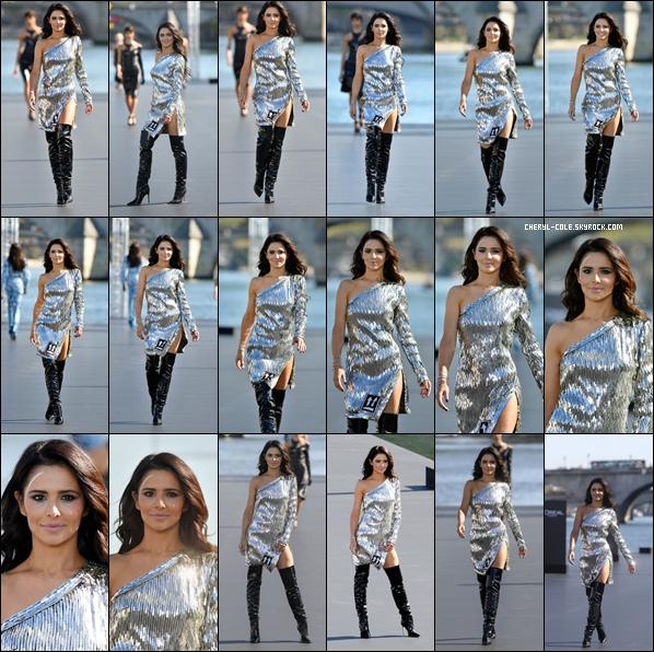 - 30/09/2018 : Cheryl défilant pour la marque L'Oréal dont elle est égérie à Paris. La belle est juste rayonnant c'est encore une fois un top ! -