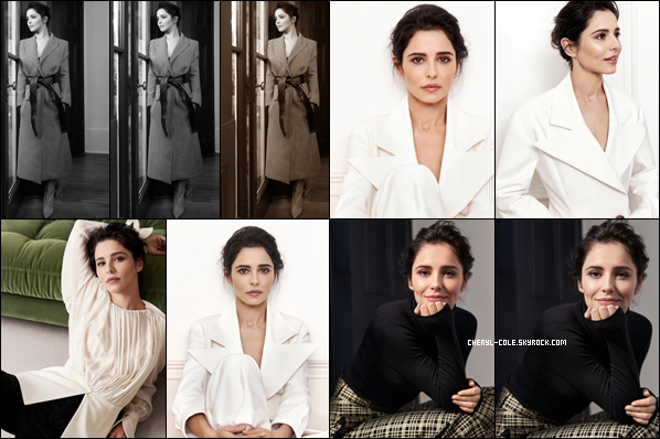 """ • SHOOT • Cheryl pose pour Mary McCartney  « Sunday Times Style » pour Novembre 2018 ! """