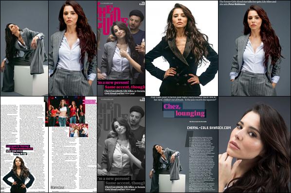 """"""" • COVER• Cheryl pose pour « Le guide du gardien » par Alicia Canter ! """""""