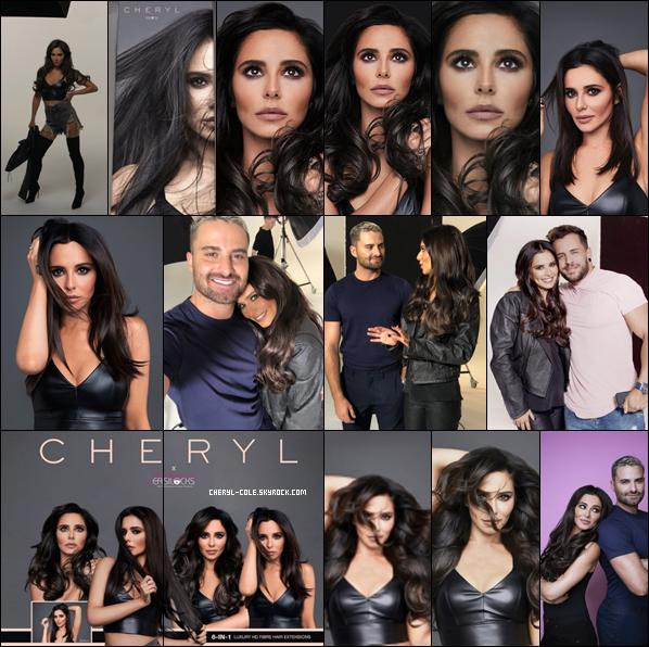 """"""" • SHOOT • Cheryl pose pour la marque d'extensions de luxe « Easilocks » en Novembre 2018 ! """""""
