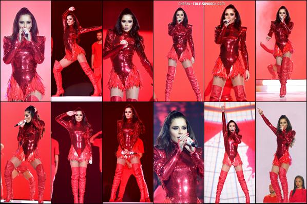 - 09/12/2018 : Cheryl était sur la scène du « Jingle Bell Ball » au « The O2 Arena » de Londres ! -