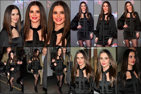 - 10/12/2018 : Cheryl était présente au lancement de la presse de « The Greatest Dancer » au « May Fair Hotel » de Londres ! -