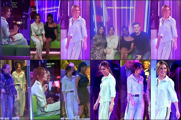 - 17/01/2019 : Cheryl était présente à l'émission de télévision « The One Show » au BBC Broadcasting House à Londres ! -