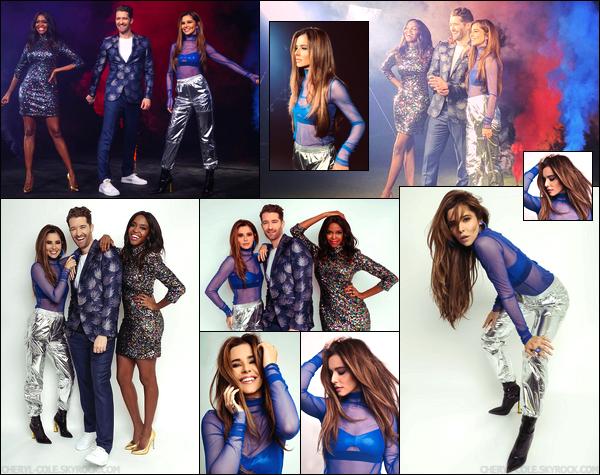 - • SHOOT • Cheryl pose pourRahul Bhatt pour l'émission « The Greatest Dancer » ! -