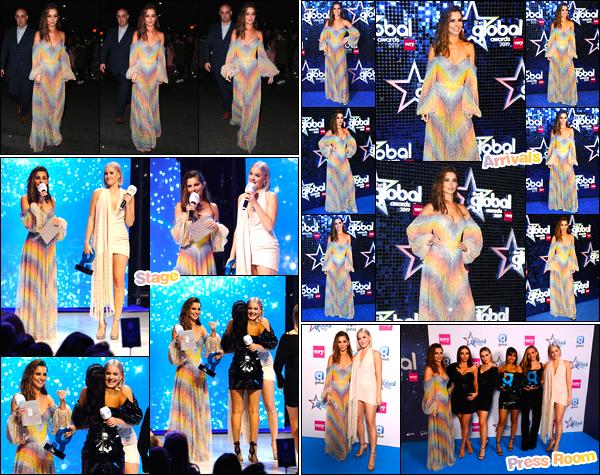 - 07/03/2019 : Cheryl Cole était présente lors des «Global Awards » auEventim Apollo,qui avait lieu à Londres ! -