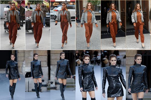 - 28/09/2019 : Cheryl quittant son hôtel ainsi que La Monnaie de Paris, FR ! C. assistait à la L'Oréal Fashion Week qui avait lieu à La Monnaie de Paris. De beaux tops ! -