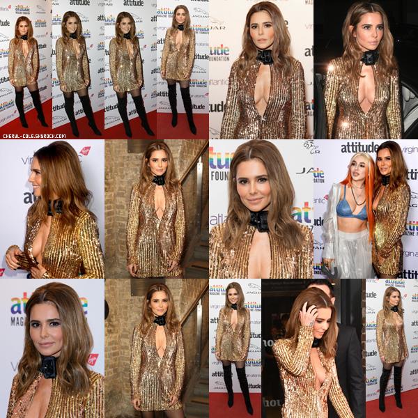 - 09/10/2019 : Cheryl lors du Virgin Atlantic Attitude Awards 2019 au The Roundhouse à Londres, UK ! C. portait une robe lui allant à merveilles c'est un magnifique top ! -