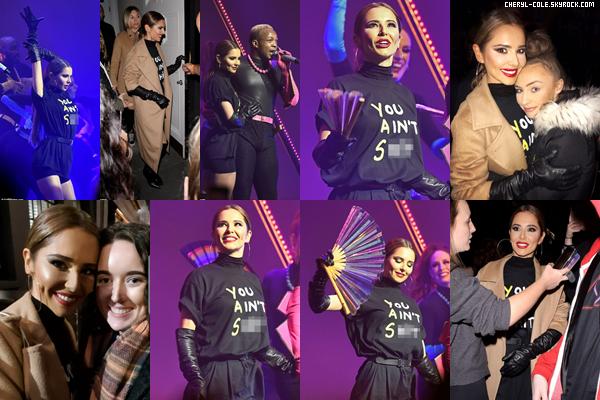 - 13/10/2019 : Cheryl lors d'une performance au concert de Todrick Hall au London Palladium à Londres, UK ! C. portait une tenue sympathique je lui donne un top pour l'occasion ! -