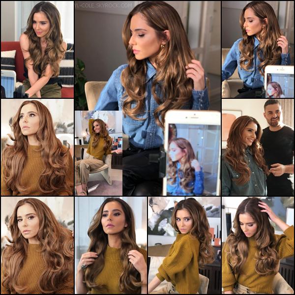 """"""" • SHOOT • Voici Cheryl pour plusieurs photoshoots de la marque Easilocks en novembre 2019 ! """""""