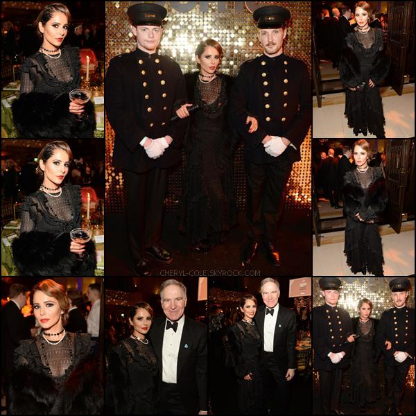 - 27/11/2019 : Cheryl.C au Dîner de Gala de l'Orient Express au  Freemason's Hall  de Londres, UK ! J'aime beaucoup la tenue de la chanteuse c'est un TOP ! Sa coiffure est moyenne… -
