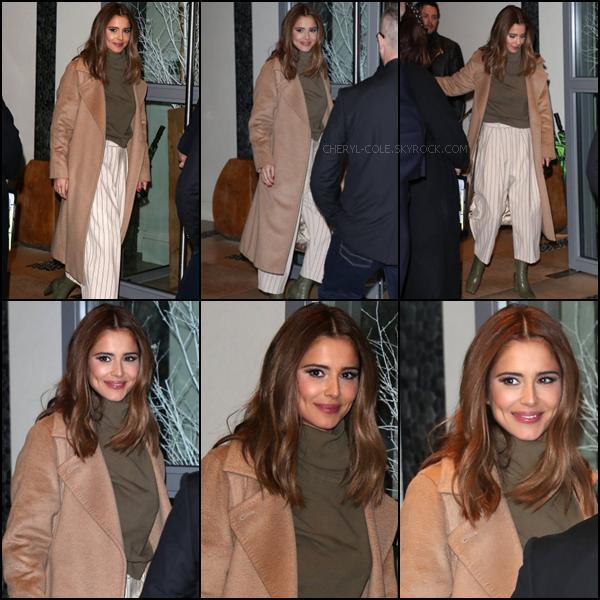 - 02/12/2019 : Cheryl.C quittant l'hôtel  Soho  de Londres, UK ! La belle se rendait à la soirée de lancement de The Greatest Dancer ! C'est un top.  -