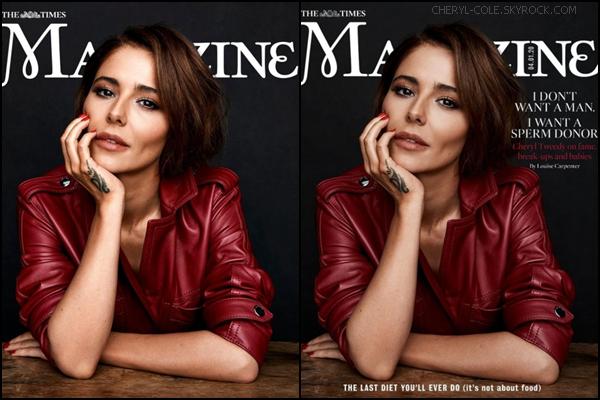 """"""" • MAG • Cheryl pose pour The Times Magazine en janvier 2020 ! """""""
