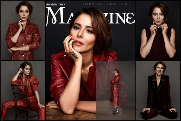 """ • SHOOT  • Cheryl pour Matt Holyoak à l'occasion du magazine The Times Magazine """