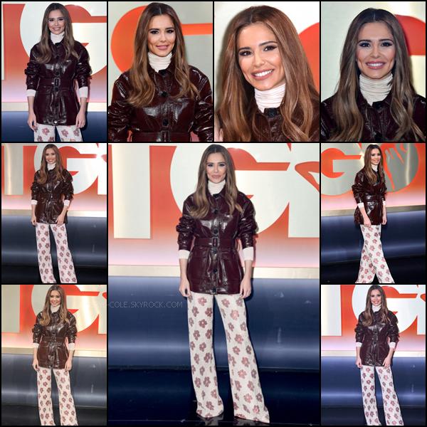 - 05/03/2020 : Cheryl lors d'une soirée de lancement de l'émission The Greatest Dancer aux LH2 STUDIOS de Londres, UK ! J'adore la tenue que porte la chanteuse pour cet événement ! C'est un TOP.  -