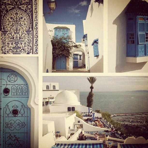 Tunisia ---> Sidi Bou Said