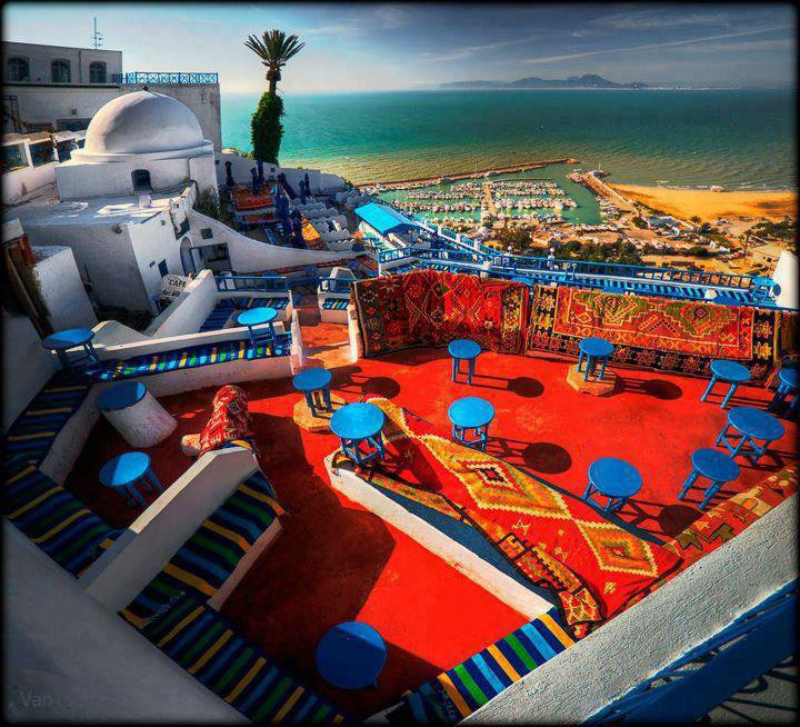 Tunisia----->Sidi Bou Said------>Café Des Délices