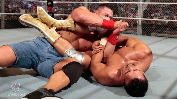 WWE Championship : Alberto Del Rio VS John Cena VS CM Punk