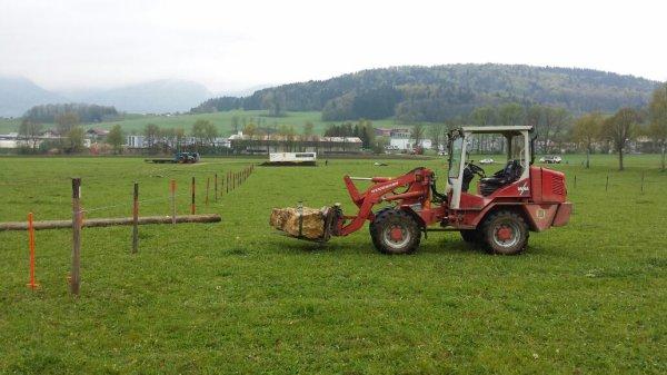 Préparation du tracteur pulling à develier