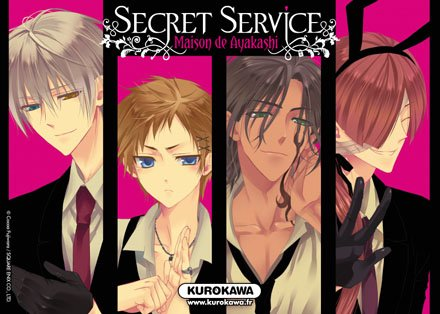 ♂ Secret Service - Maison de Ayakashi ♀