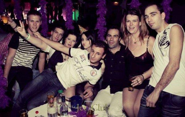 nouvelle  l'ans aux jet7club Mulhouse avec les amis