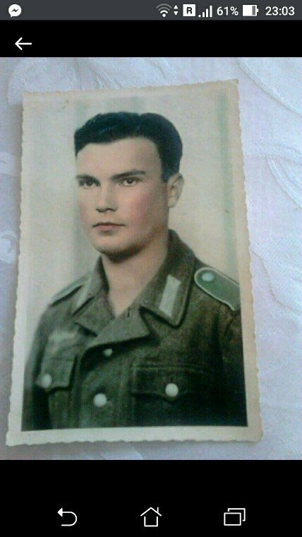 Mon grand  père ce héros