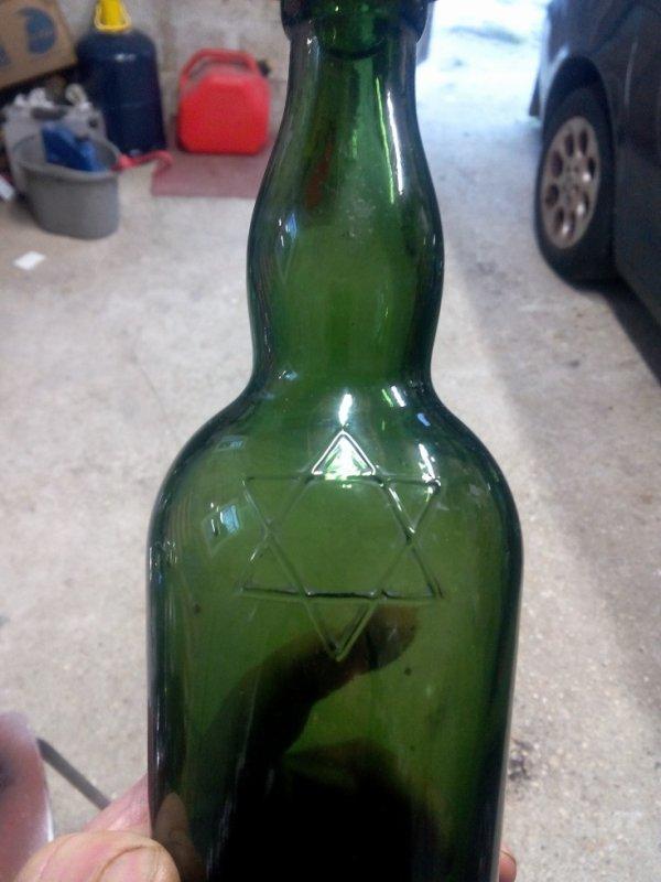bouteille de brasseur juif 1935