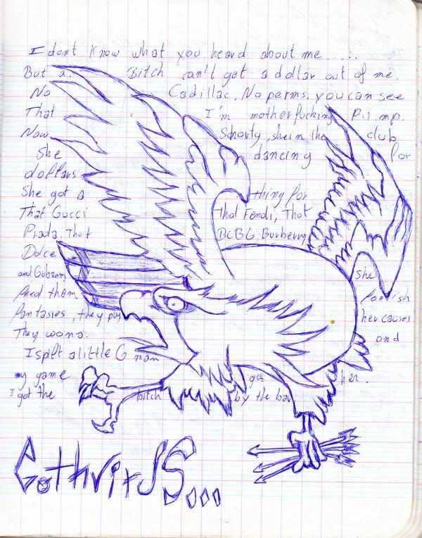 Beh Une Page De Mon Cahier De Cours ^^