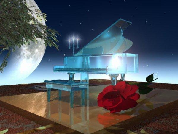 Le piano de verre