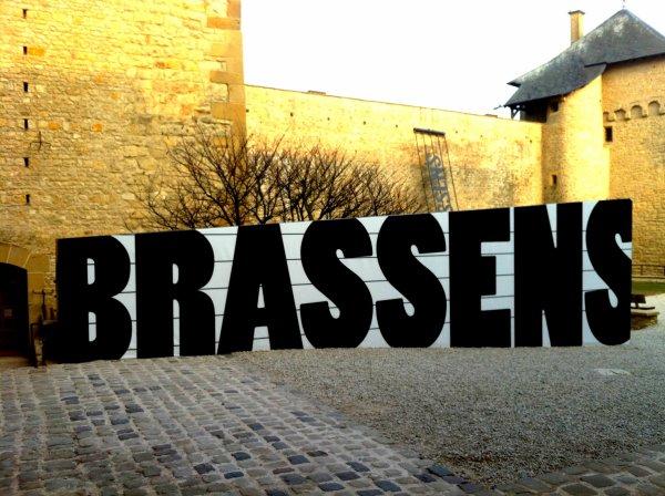 29/03/13 Exposition Brassens à Malbrouck.