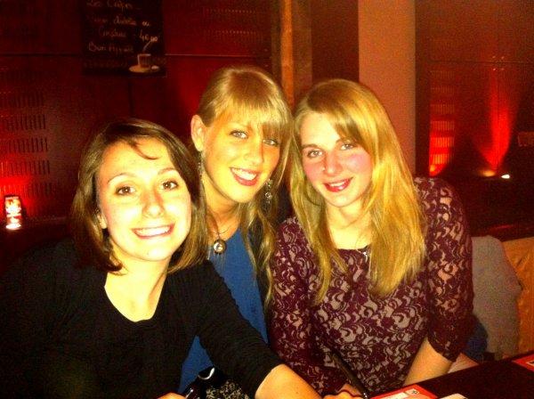 23/05/13 Restaurant à Metz avec les filles.