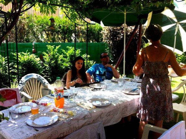 16/06/13 Repas chez Caterine et Fred.