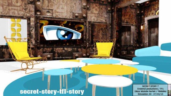 Secret Story 7: Le salon dévoilé!